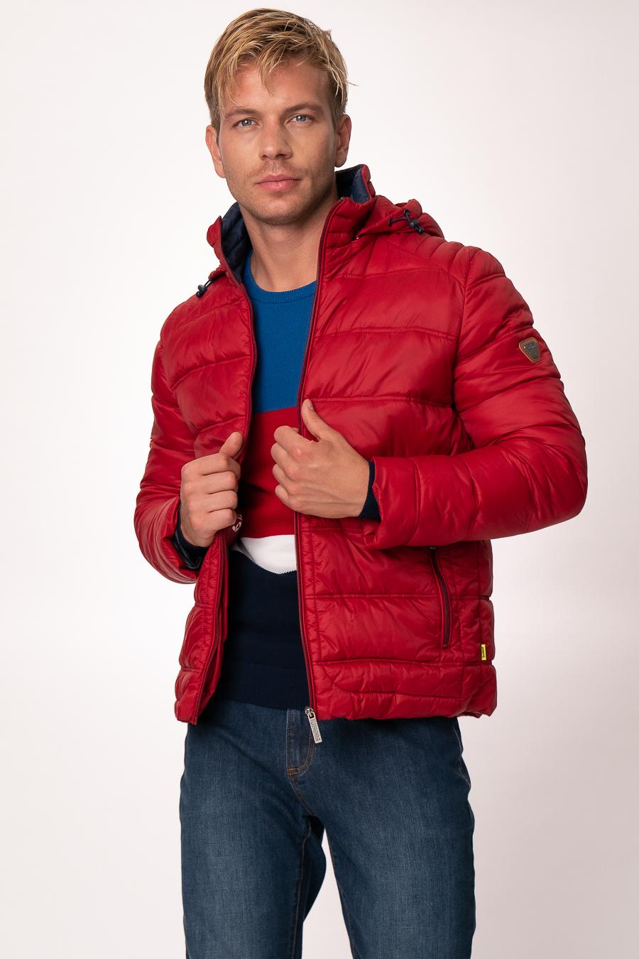 Minőségi férfi dzseki, férfi téli kabát   budmil